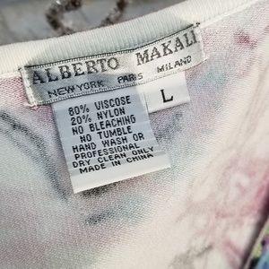 Alberto Makali Tops - Alberto Makali Multicolor Beaded & Sequined Top